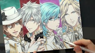 Speed Drawing - QUARTET★NIGHT (Uta no Prince-sama! うたの☆プリンスさまっ♪)