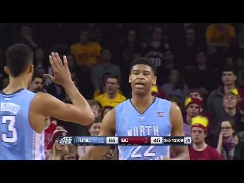 UNC Men's Basketball: Highlights Vs. Boston College
