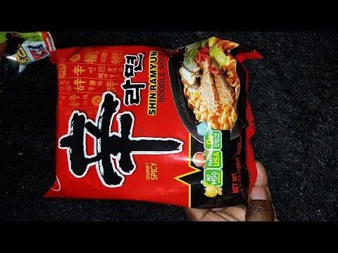 Spicy Ramen Noodle Challenge 2😂😂🤣🤣