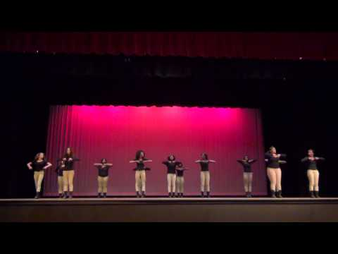 East River High School Step Team Performs At Multicultural Night