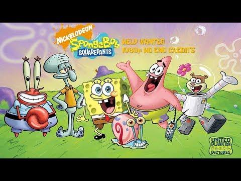 Spongebob Help Wanted Credits Widescreen HD