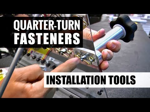 Quarter-Turn (Dzus) Fastener Installation Tools