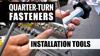 Quarter-Turn (Dzus) Fastener Installation Tools