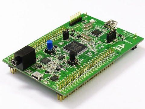 arm programlama keil 48 realtime grafik  matlab 1 stm32f4 discovery