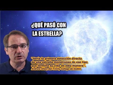 "Misterio Cósmico: Desaparece una Estrella Masiva ""sin dejar rastro"""