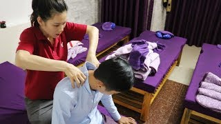 Foot Massage with Professional Skill Girl in Dalat [Vietnam Travel]