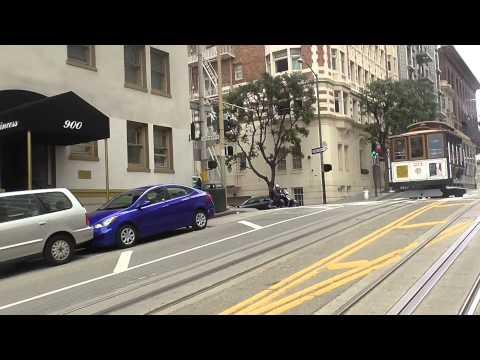 San Fransisco California Full Cable Car Ride San Francisco
