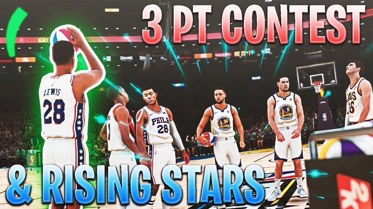 3-point-contest-rising-stars-challenge-all-star-weekend-nba-2k18-mycareer