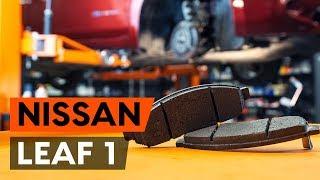Hvordan bytte foran bremseklosser der på NISSAN LEAF 1 (ZE0U) [AUTODOC-VIDEOLEKSJONER]