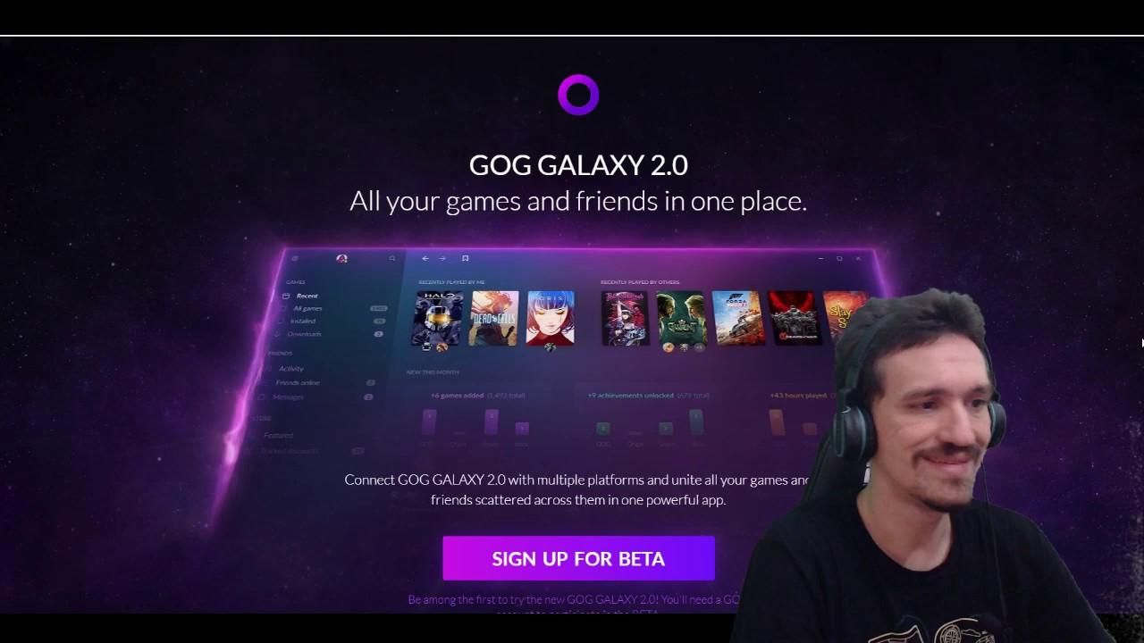 Conheça GOG Galaxy 2 0 - um novo Playnite - Consoles e PC juntos!