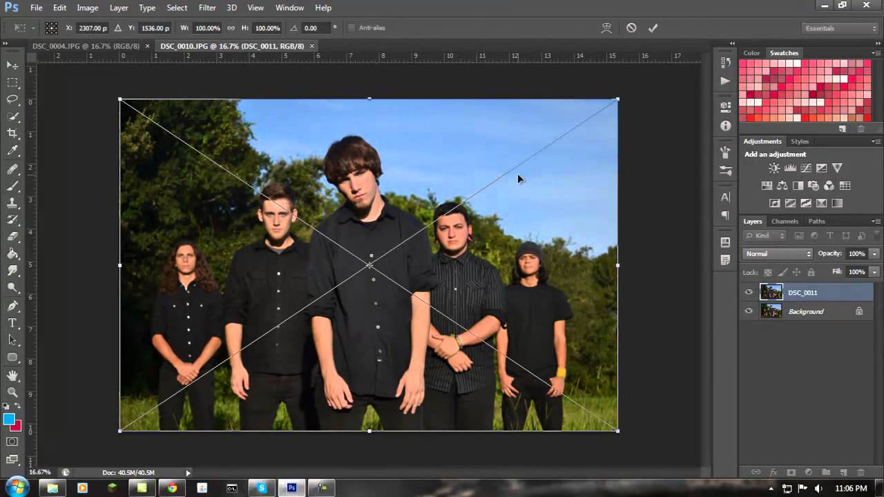 Tricks and tips photoshop