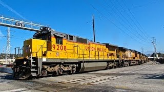 Union Pacific 9208 Standard Cab Leading a IOALBR & More
