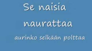 Popeda - Pitkä Kuuma Kesä lyrics