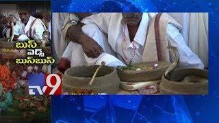 Snake weds Snake in Vizianagaram! - TV9
