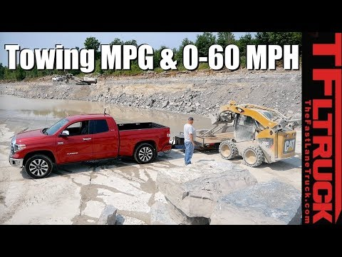 Canucks & Trucks: 2018 Toyota Tundra Reviewed with a 8,300 Lbs Trailer