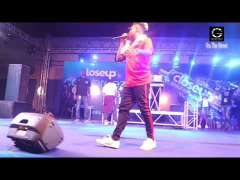Reekado Banks Performance At The Mr And Miss Uniport 2017