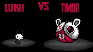 Isaac Afterbirth Plus - Lukii vs Timor (Reskin Mod INNER END)