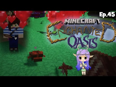 """KISSING TOADS W/ STACY"" Minecraft Enchanted Oasis Ep 45"
