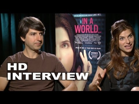 In A World: Lake Bell & Demetri Martin Interview