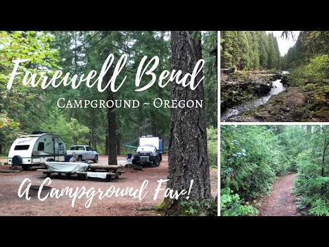 Farewell Bend RV & Tent Campground ~ Oregon ~ A Campground Fav!