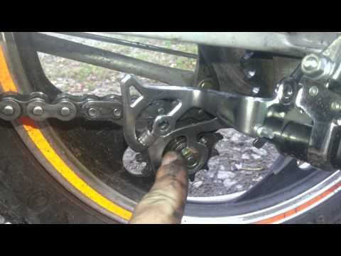 Натяжитель цепи за 40грн для вайпера из велосипедного натяжителя!!!