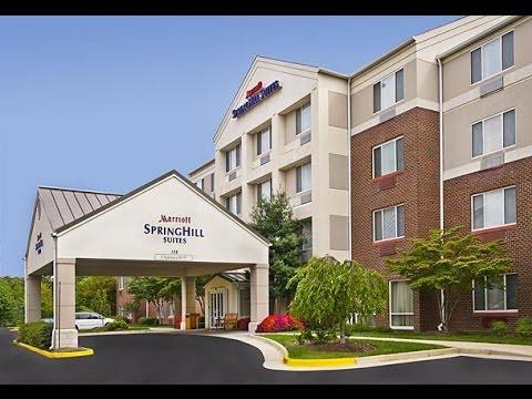 Springhill Suites Hotel Tour - Herndon, Virginia