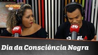 Adriana Moreira e Fernando Holiday debatem o dia da Consciência Negra