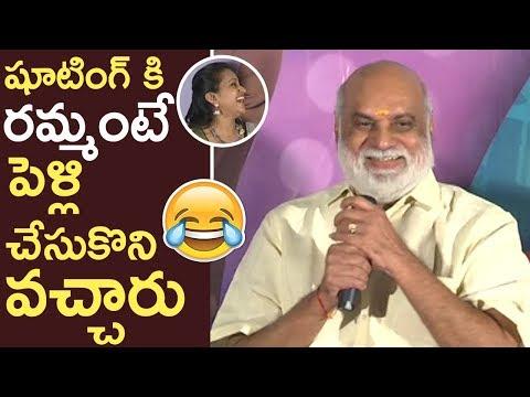Director Raghavendra Rao Making Fun On...