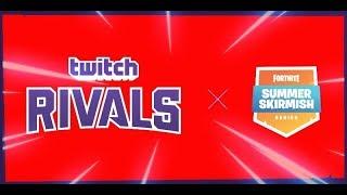 🔴FORTNITE Torneo TWITCH RIVALS Ninja Tfue Myth !!