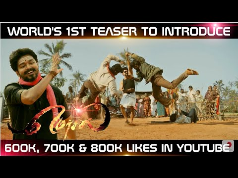 Mersal Theme Music On The Way🔥 -#Mersal Is The 1st Teaser To Introduce 600K, 700k, 800K Likes 🔥👌