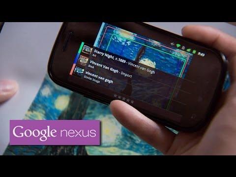 Explore Nexus S: Google Goggles