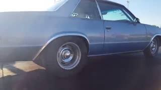 """Grandma"" 9 second street car 1981 malibu"