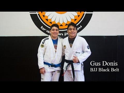 Gus Donis BJJ Black Belt Promotion