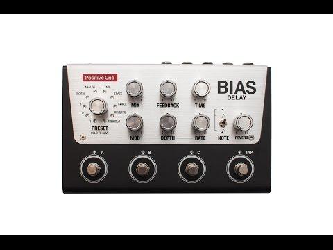 Introducing BIAS Delay Pedal