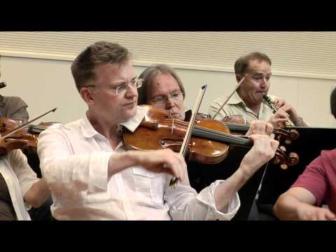 Open rehearsal Sir Roger Norrington and the ZKO. Part 1
