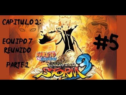 Naruto Ultimate Ninja Storm 3 - Cap 2 - Equipo 7 Reunido (Parte 1) - HD (Sub Esp) - #5