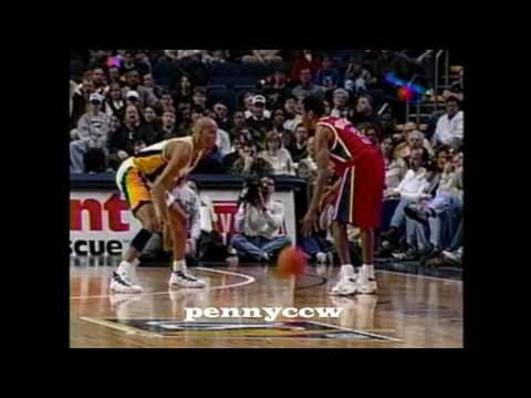 Allen Iverson 37pts Full Highlights vs the Pacers 96/97 NBA *Rookie *HQ