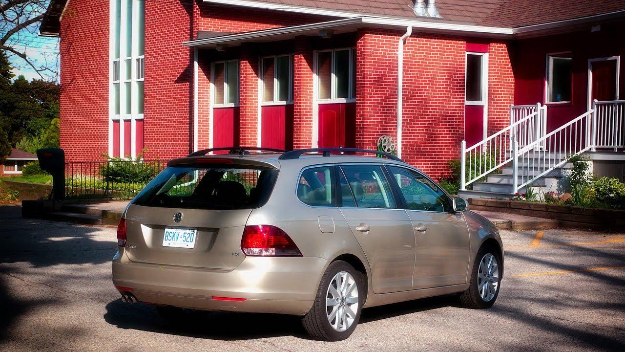 2014 VW Golf Wagon TDI DSG Review
