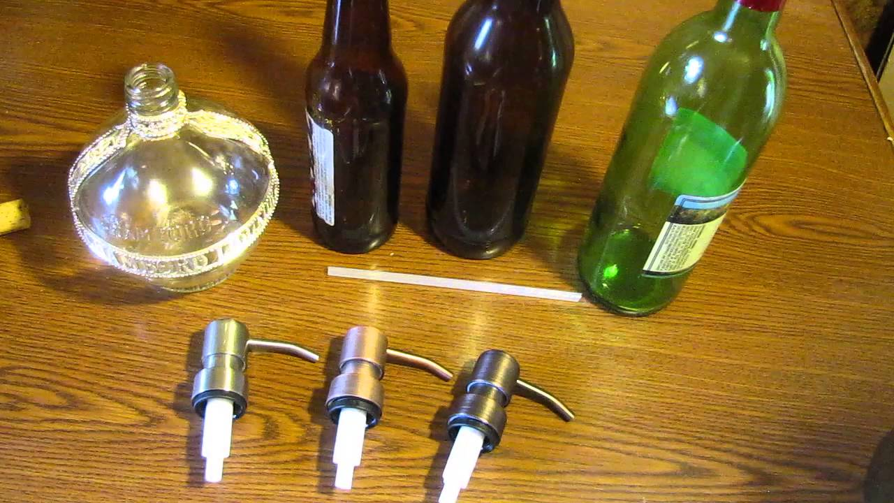 Where To Soap Dispenser Pump Tops For Diy Wine Liquor Bottle Or Mason Jar Dispensers