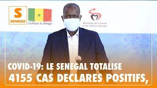 ''Coronavirus'' : Le Sénégal totalise 4155 cas déclarés positifs, ce vendredi 5 juin (Senego Tv)