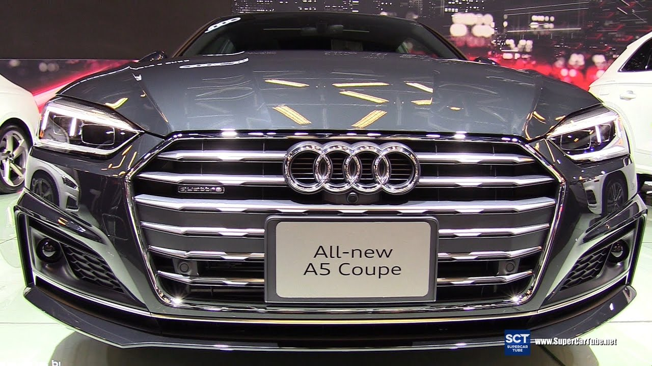 2018 audi a5 coupe. Interesting Audi 2018 Audi A5 TFSI Quattro Coupe  Exterior And Interior Walkaround 2017  Montreal Auto Show YouTube Inside Audi A5 Coupe