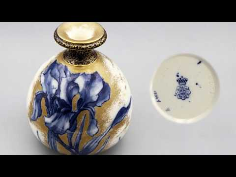 Royal Doulton Burslem with Coronet circa 1890s. A friendly talk about 3 beautiful pieces of pottery.
