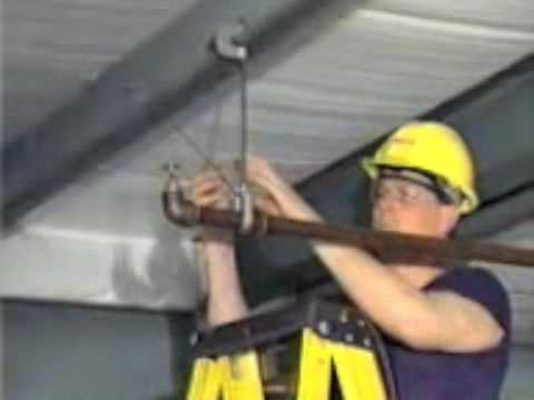 Fire Sprinkler Installation: 2 Way Brace - Branch Line - YouTube