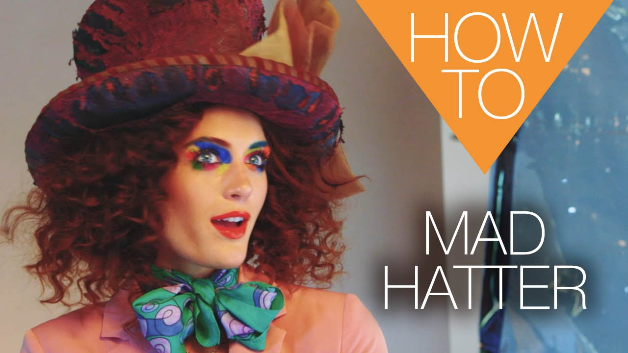 The new Mad Hatter | HALLOWEEN how-to makeup tutorial - YouTube