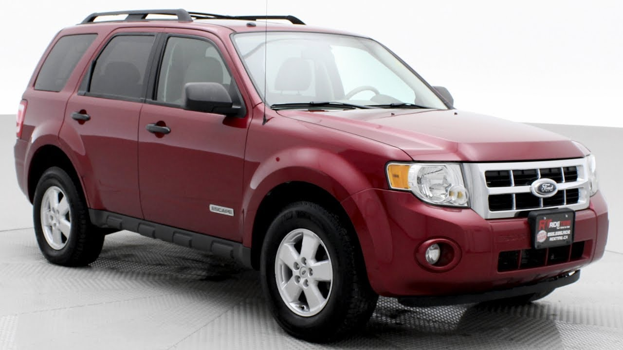 2008 ford escape xlt sunroof alloy wheels ridetime ca