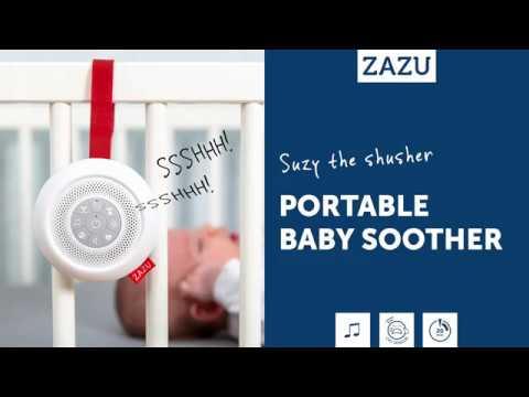 Zazu Kids Portable Baby Soother Suzy Shushing