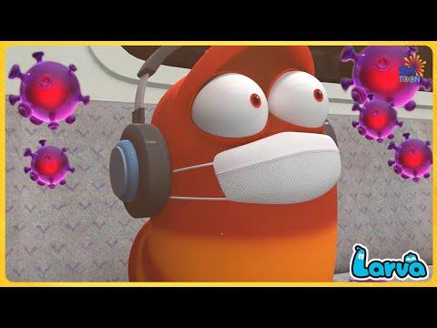 larva-ark---funny-cartoon-animation-🥟-full-episode-compilation-🍟-stop-motion-animation-cartoon