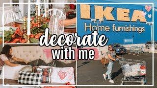 IKEA DECORATE WITH ME 2018 | IKEA HOME DECOR HAUL & DECORATING! | Page Danielle