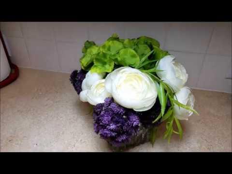 Silk Floral Arrangement Product Review Plantscape Inc Youtube