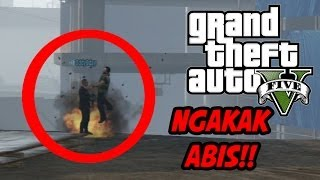 GTA 5 Online NGAKAK ABIS! (5) MELETUP DENGAN LUGU!! (Lucu dan Guobbbloooog!!!) HAHAHA